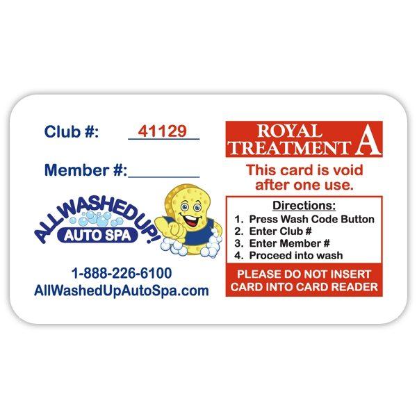 Fund Raising Card Royal Treatment