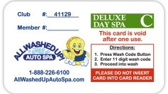 Fund Raising Card Deluxe Day Spa