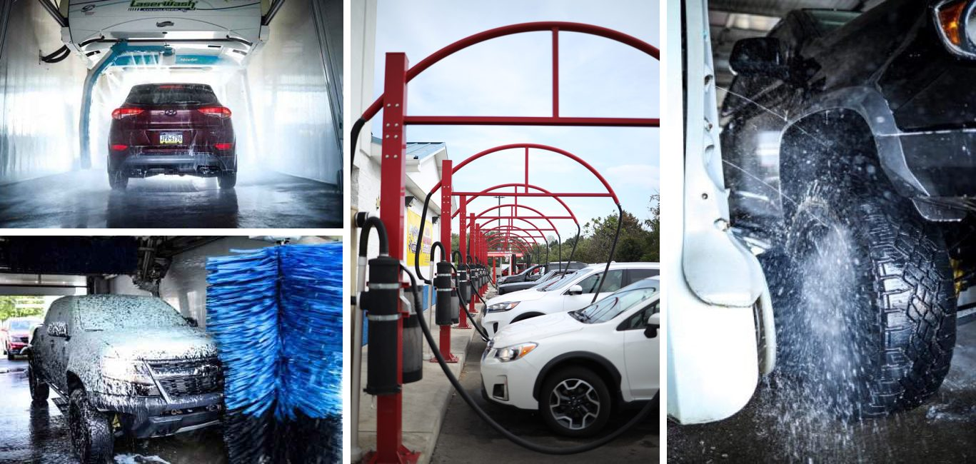 Car Wash Services Collage